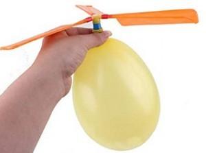 Ballon Hubschrauber!