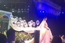 Originelles Hochzeitskleid