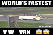 Schnelller VW-Bus