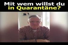 Mit wem willst du in Quarantäne sein?