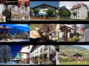 Oberammergau - (ein Ort in Süddeutschland)