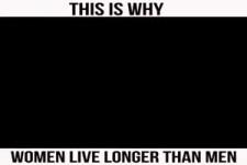 Deshalb leben Frauen länger
