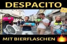 Despacito mit Bierflaschen
