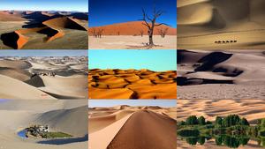 desert - Wüsten