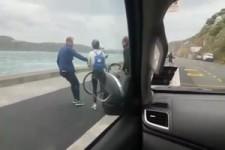 Zu stürmisch fürs Radfahren