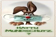 Hattu Mundschutz, Klopapier...? Dann frohe Ostern