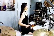 METALLICA - Battery drum cover by Ami Kim