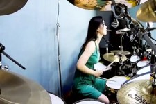 DIO - Holy Diver drum cover by Ami Kim
