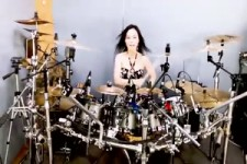 Nightwish - Wish I had an angel drum cover by Ami Kim