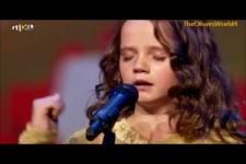 9 jährige Mädchen verzaubert mit ihrer Stimme