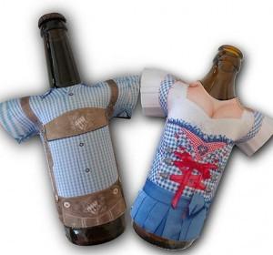 Madl & Buam Bierflaschen-Tracht!