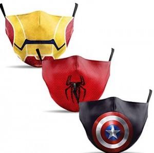Mundschutz Maske mit Superhelden Motiv!