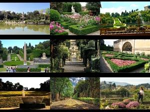 Boboli Gardens in Florence - Boboli Gärten in Florenz