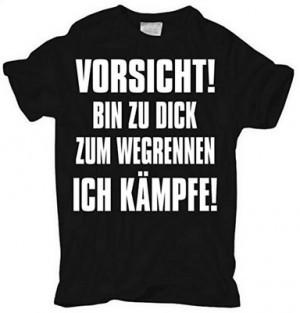 Lustiges T-Shirt für dickere Leute!