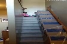 Super Idee mit den Kartons