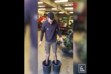 Hochheben unmöglich