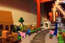 So eine große Eisenbahnstrecke