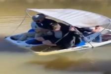 Bisschen zu klein das Boot