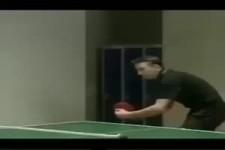 Tischtennis-Trick