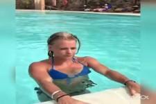 So steigt man aus dem Pool