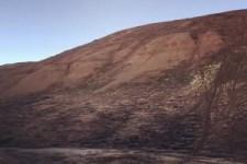 Mit dem Motorrad den Berg hoch