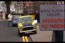 Mr. Bean No Parking