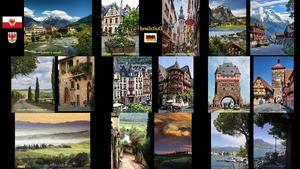 Duitsland - Switserland - Toscana - Deutschland - Schweiz -