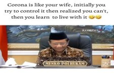 Corona ist wie Deine Frau