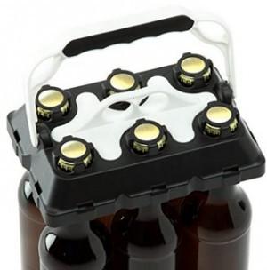 Trage-Hilfe für bis zu 6 Bier-Flaschen!