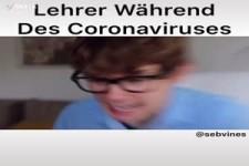 Lehrer während des Corona-Virus
