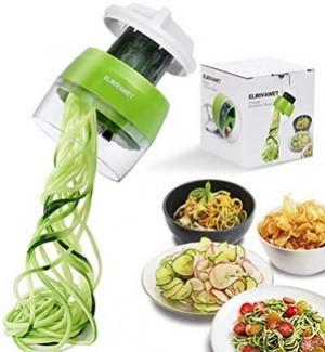 Handlicher Spiralschneider für Gemüsespaghetti!