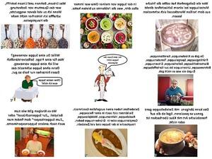 Vor dem Essen die Suppe nicht vergessen