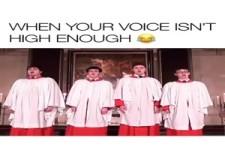 wenn deine Stimme nicht hoch genug ist