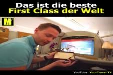 Das ist die beste First Class der Welt