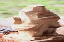 Was für ein genialer Holzkünstler