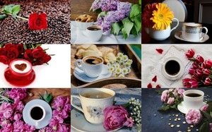 Coffee & Flowers - Kaffee & Blumen