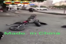 Das Moped ist wohl made in China