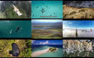 drone aerial photos