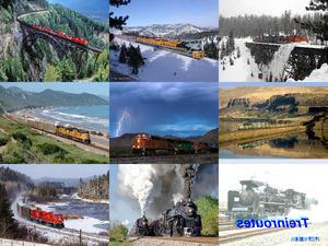 beautiful railways