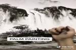 Toller-Künstler-malt-Palmen.mp4 auf www.funpot.net