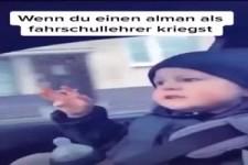 Wenn du einen Alman als Fahrschullehrer kriegst