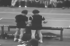 Tischtennis-Show