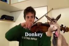Tierische Musik auf der Violine