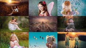 D'adorables enfants - Entzückende Kinder