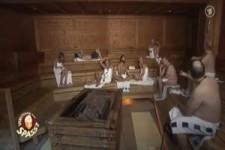 Verstehen sie Spaß ? - in der Sauna