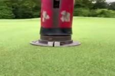 So entsteht ein Golfloch