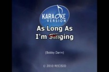 Bobby Darin As Long As I m Singing