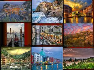Italien-Malereien