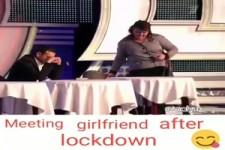 Treffen mit der Freundin nach dem Lockdown