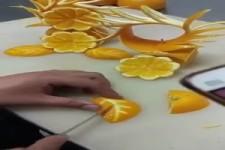 Kunst aus Früchten